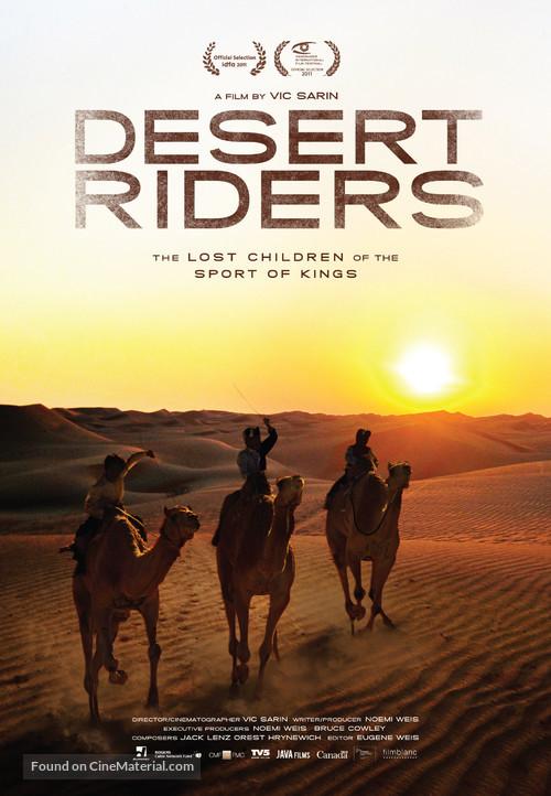 Desert Riders - Canadian Movie Poster