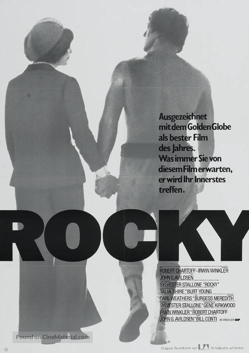 Rocky - German Movie Poster