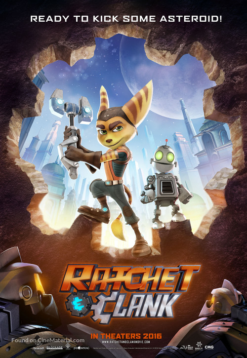 Ratchet and Clank - Movie Poster