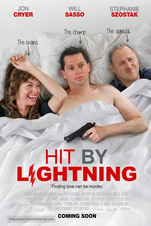 Hit by Lightning - Canadian Movie Poster