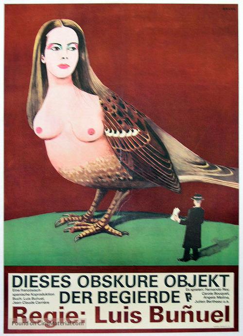 Cet obscur objet du désir - German Movie Poster