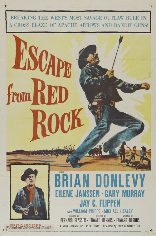 Escape from Red Rock - Movie Poster