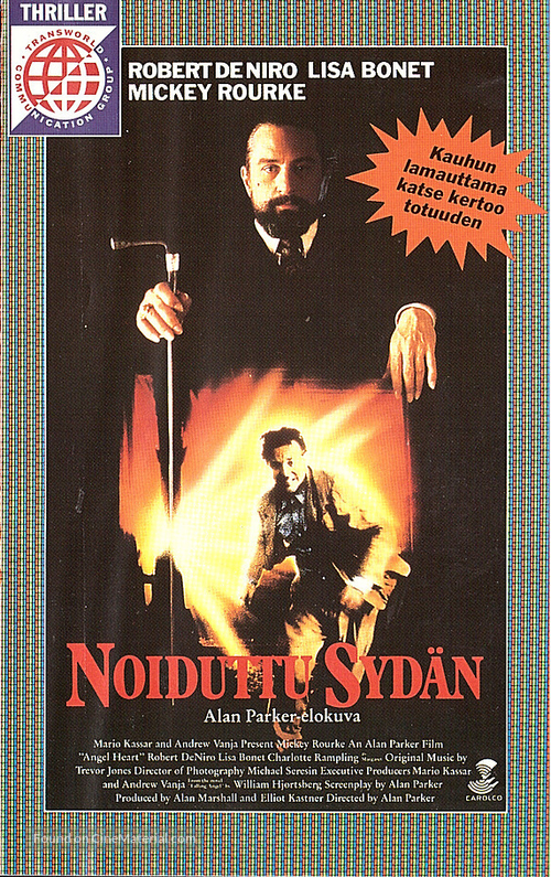Angel Heart - Finnish VHS movie cover