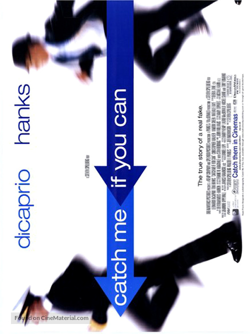 Catch Me If You Can - British Movie Poster