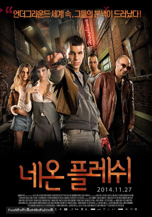 Carne de neón - South Korean Movie Poster