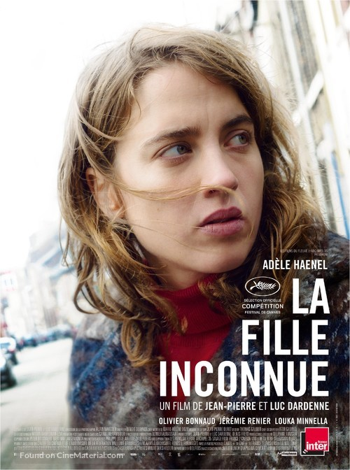 La fille inconnue - French Movie Poster