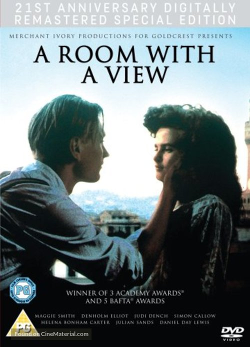 A Room with a View - British DVD movie cover