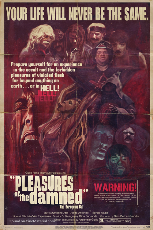 Pleasures of the Damned - Movie Poster