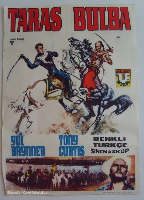 Taras Bulba - Turkish Movie Poster