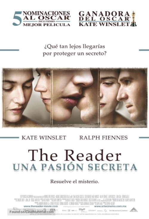 The Reader - Mexican Movie Poster