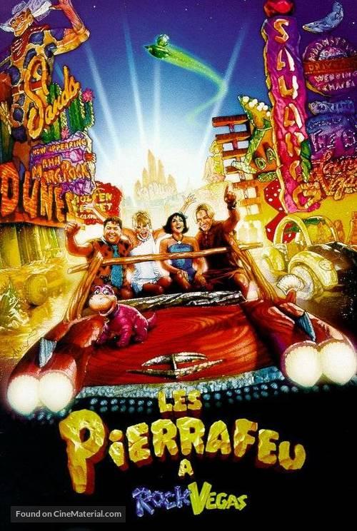 The Flintstones in Viva Rock Vegas - French VHS movie cover