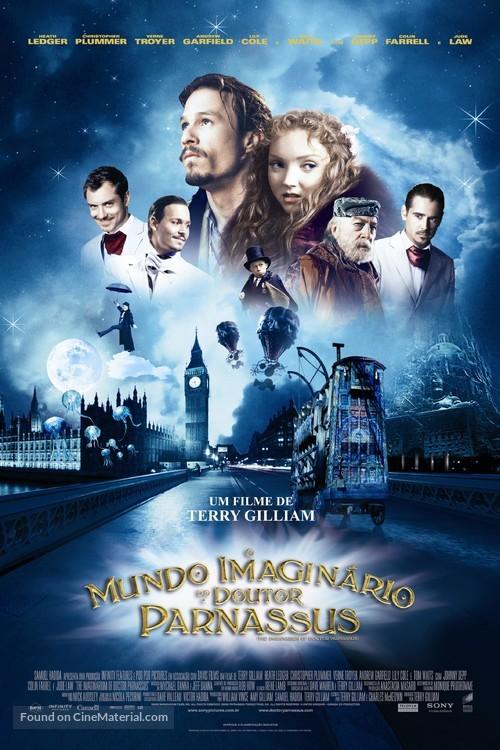 The Imaginarium of Doctor Parnassus - Brazilian Movie Poster