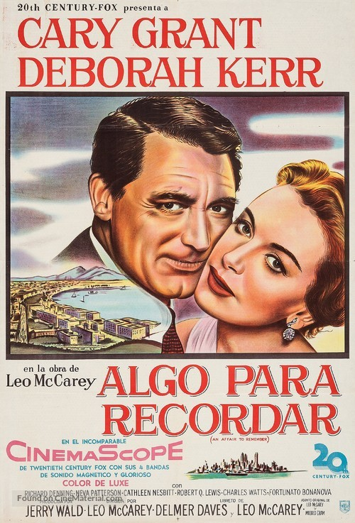 An Affair to Remember - Argentinian Movie Poster