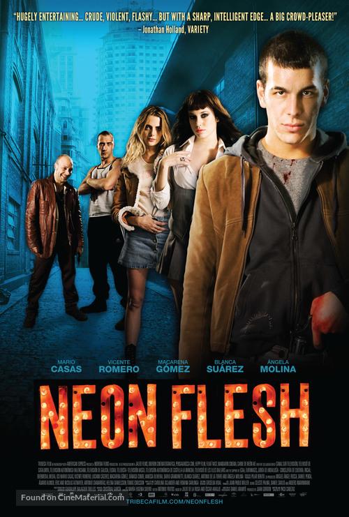 Carne de neón - Movie Poster