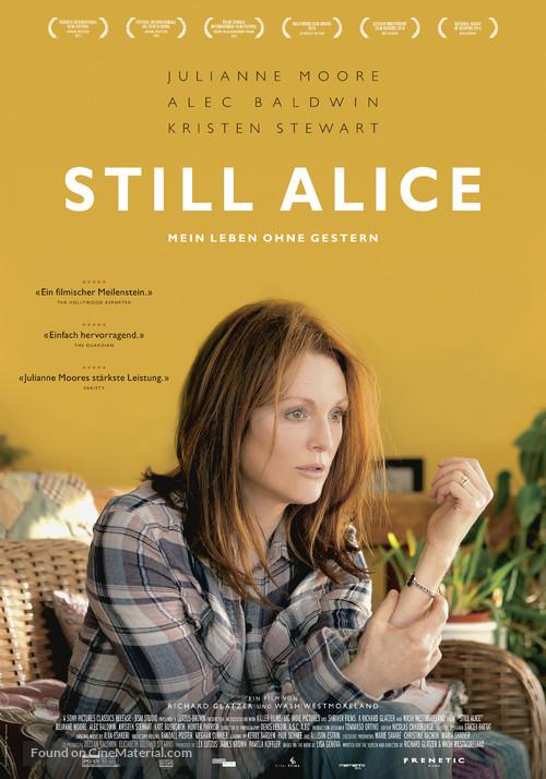 Still Alice - Swiss Movie Poster