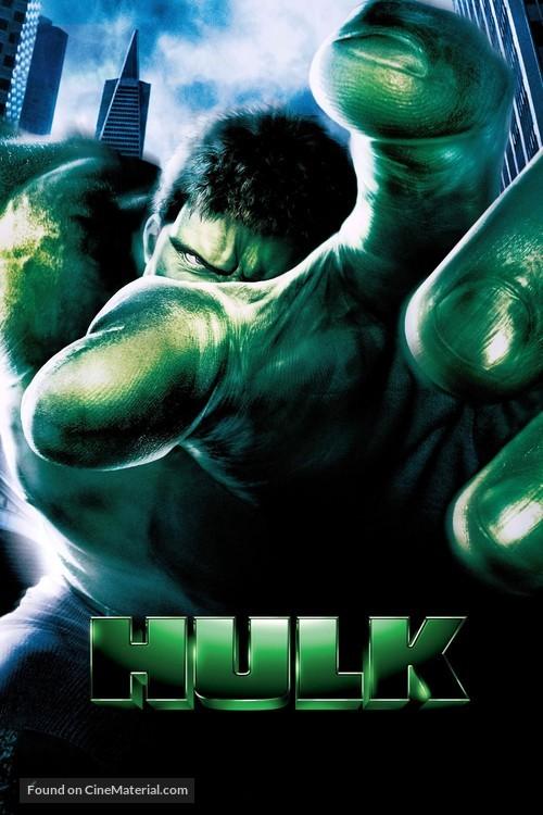 Hulk - DVD movie cover