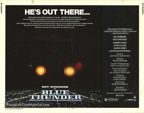 Blue Thunder - Theatrical movie poster