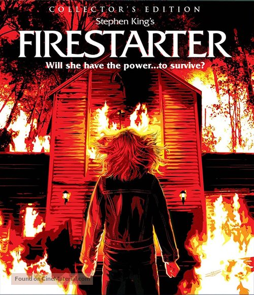 Firestarter - Blu-Ray movie cover