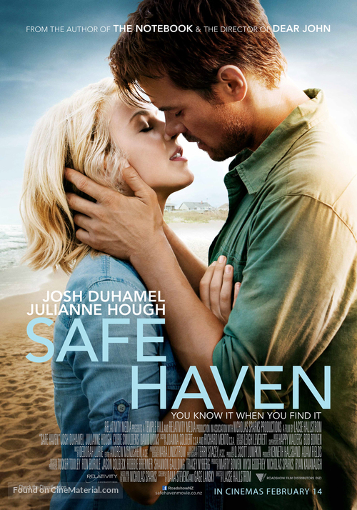 Safe Haven - New Zealand Movie Poster