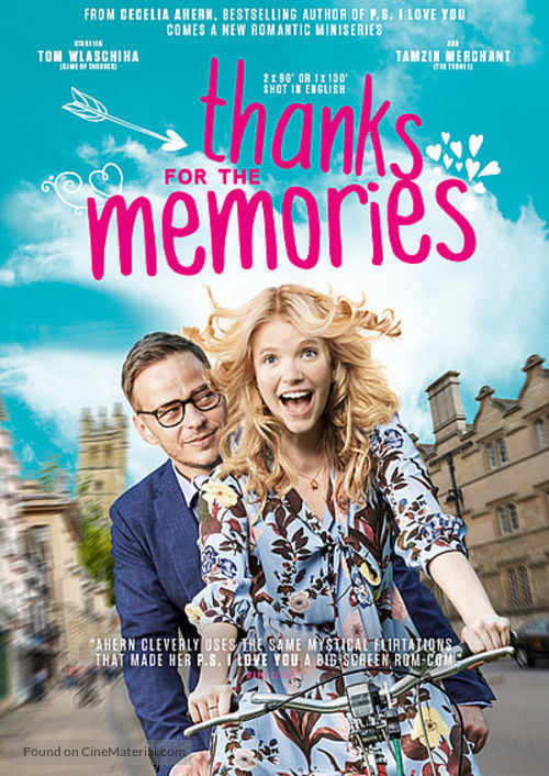 """""""Thanks for the Memories"""" - British Movie Poster"""