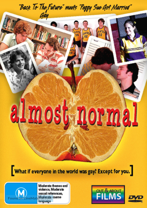 Almost Normal - Australian DVD movie cover