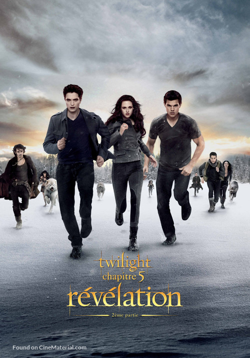 The Twilight Saga: Breaking Dawn - Part 2 - Swiss Movie Cover