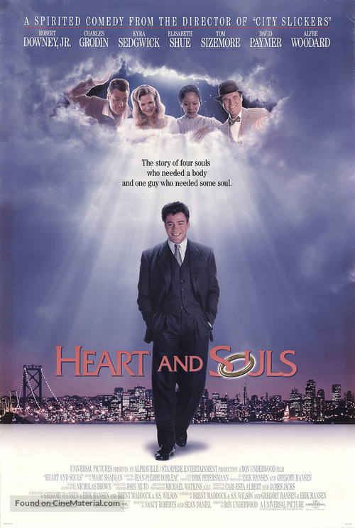 Heart and Souls - Movie Poster