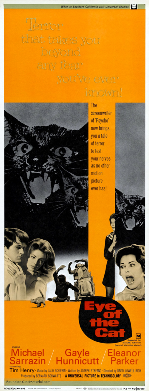 Eye of the Cat - Movie Poster