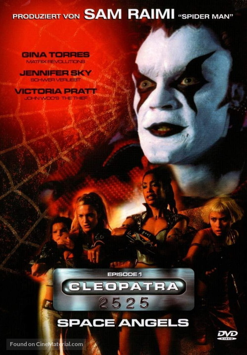 """Cleopatra 2525"" - German DVD movie cover"