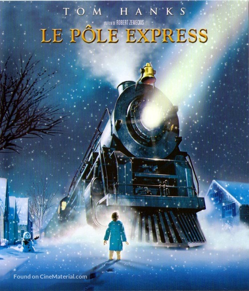 The Polar Express - French Blu-Ray movie cover