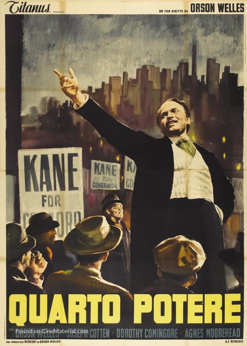Citizen Kane - Italian Movie Poster