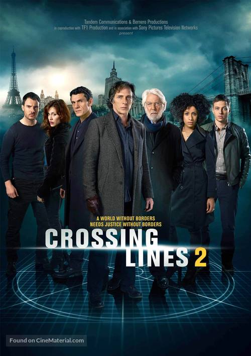 """""""Crossing Lines"""" - Movie Poster"""