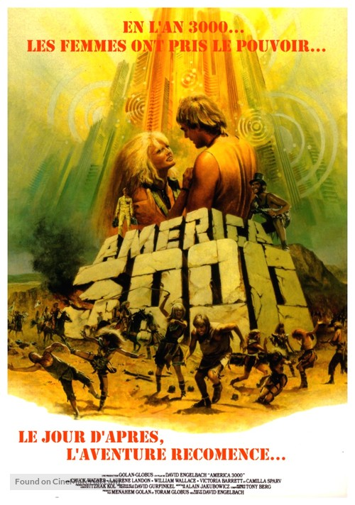 America 3000 - French Movie Poster
