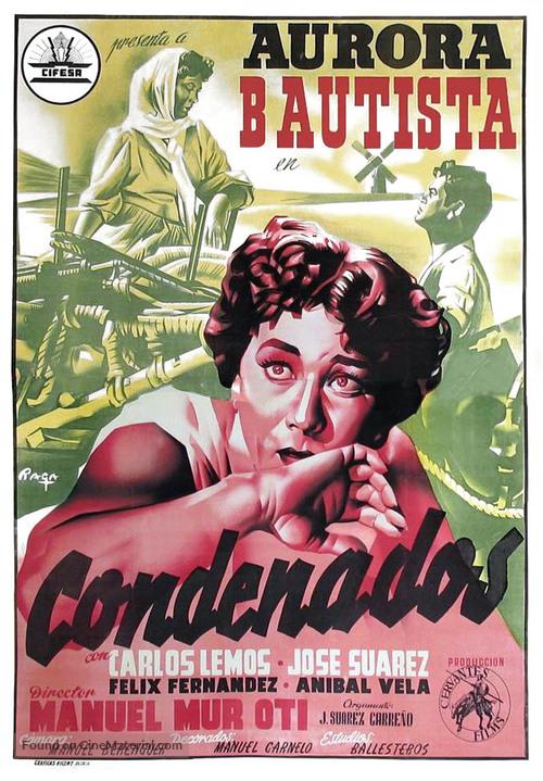 Condenados - Spanish Movie Poster