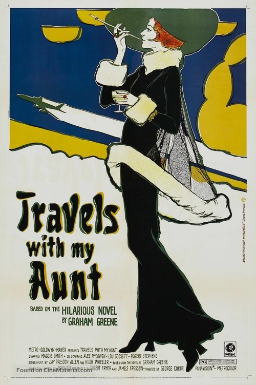 Travels with My Aunt - Movie Poster