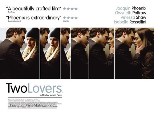 Two Lovers - British Movie Poster