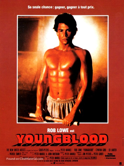 Youngblood - French Movie Poster