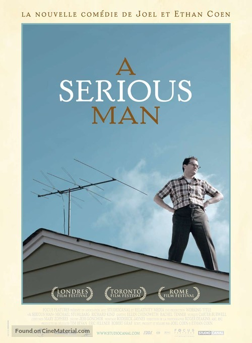A Serious Man - French Movie Poster