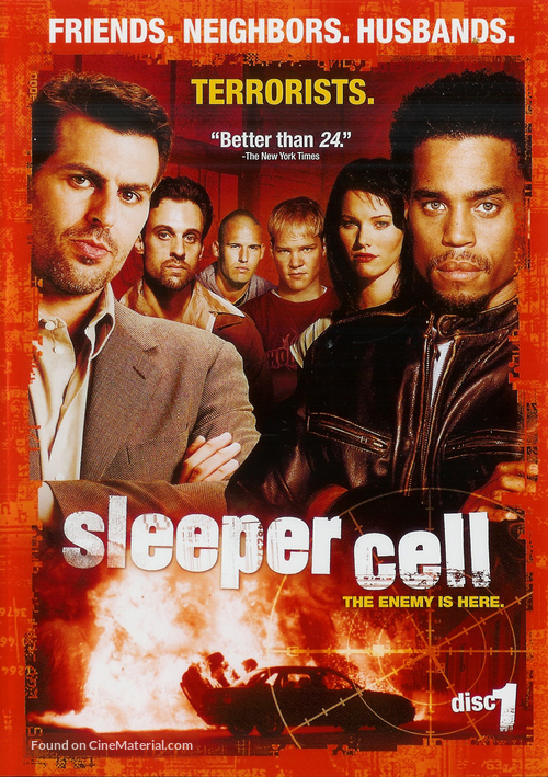 """""""Sleeper Cell"""" - Movie Cover"""