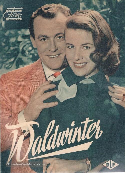 Waldwinter - German poster