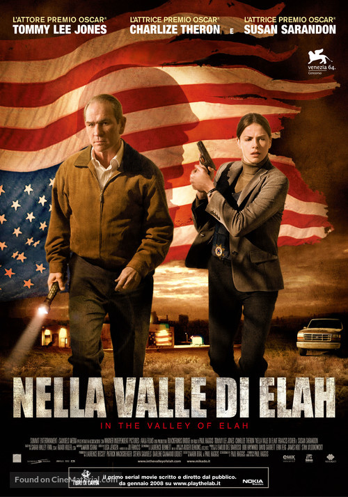 In the Valley of Elah - Italian Movie Poster