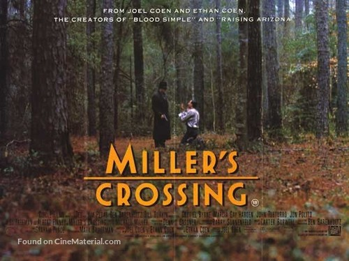Miller's Crossing - Movie Poster