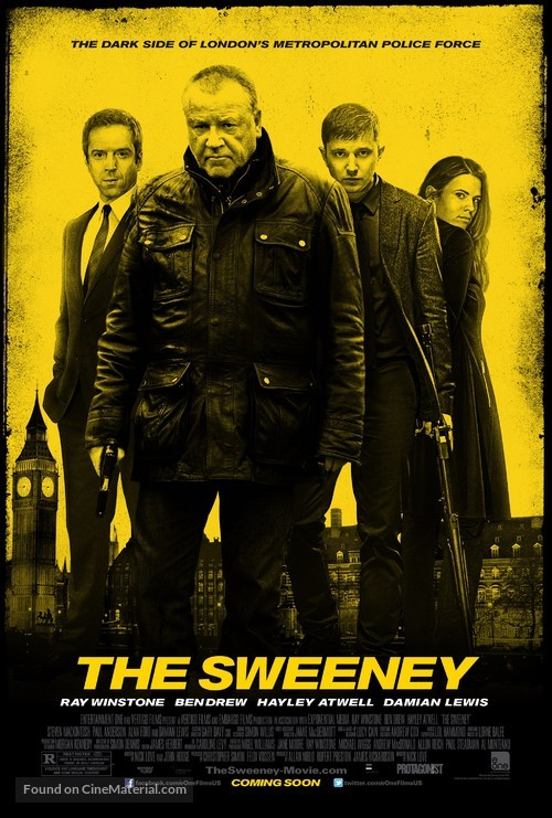 The Sweeney - Movie Poster