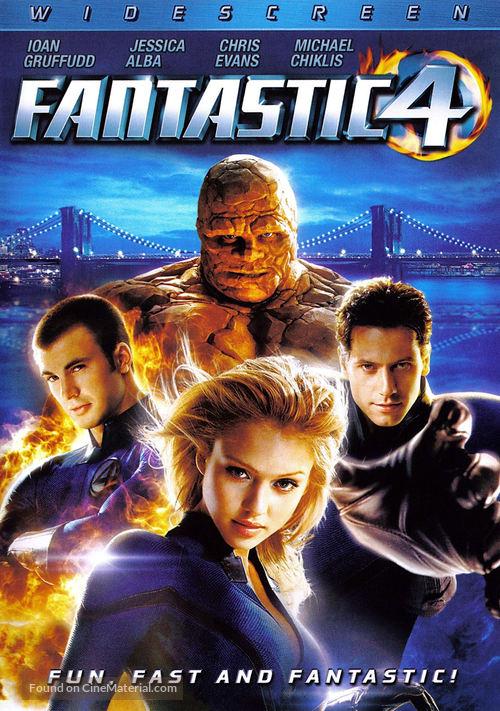 Fantastic Four - DVD movie cover