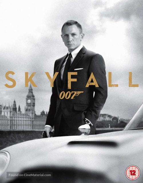 Skyfall - British Blu-Ray movie cover