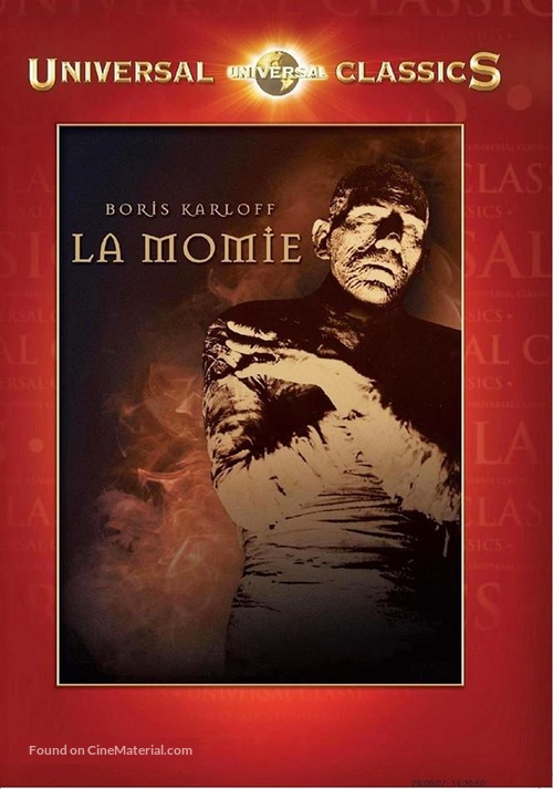 The Mummy - French DVD movie cover