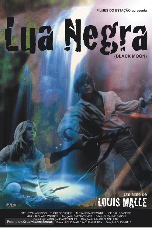 Black Moon - Brazilian Movie Poster