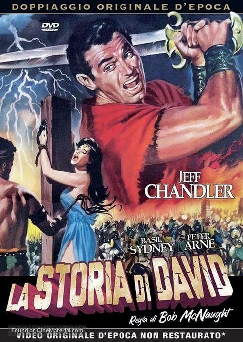 A Story of David - Italian DVD movie cover