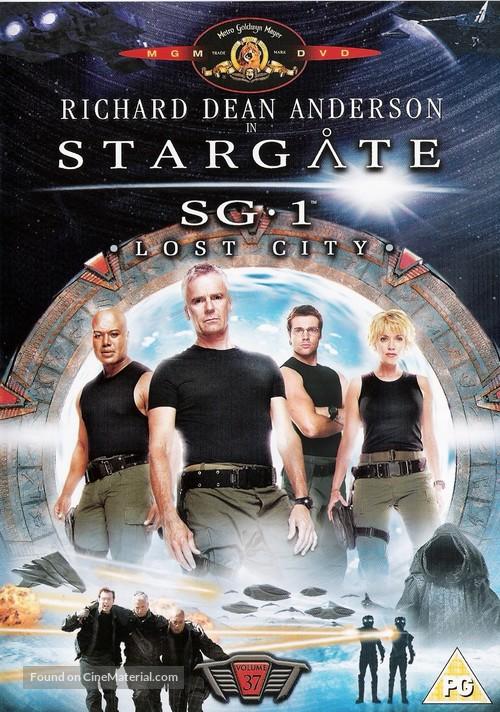 """Stargate SG-1"" - British DVD movie cover"