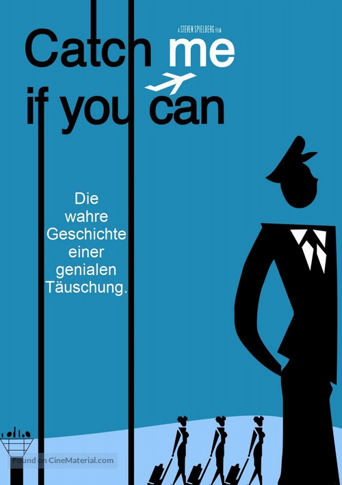 Catch Me If You Can 2002 German Movie Poster